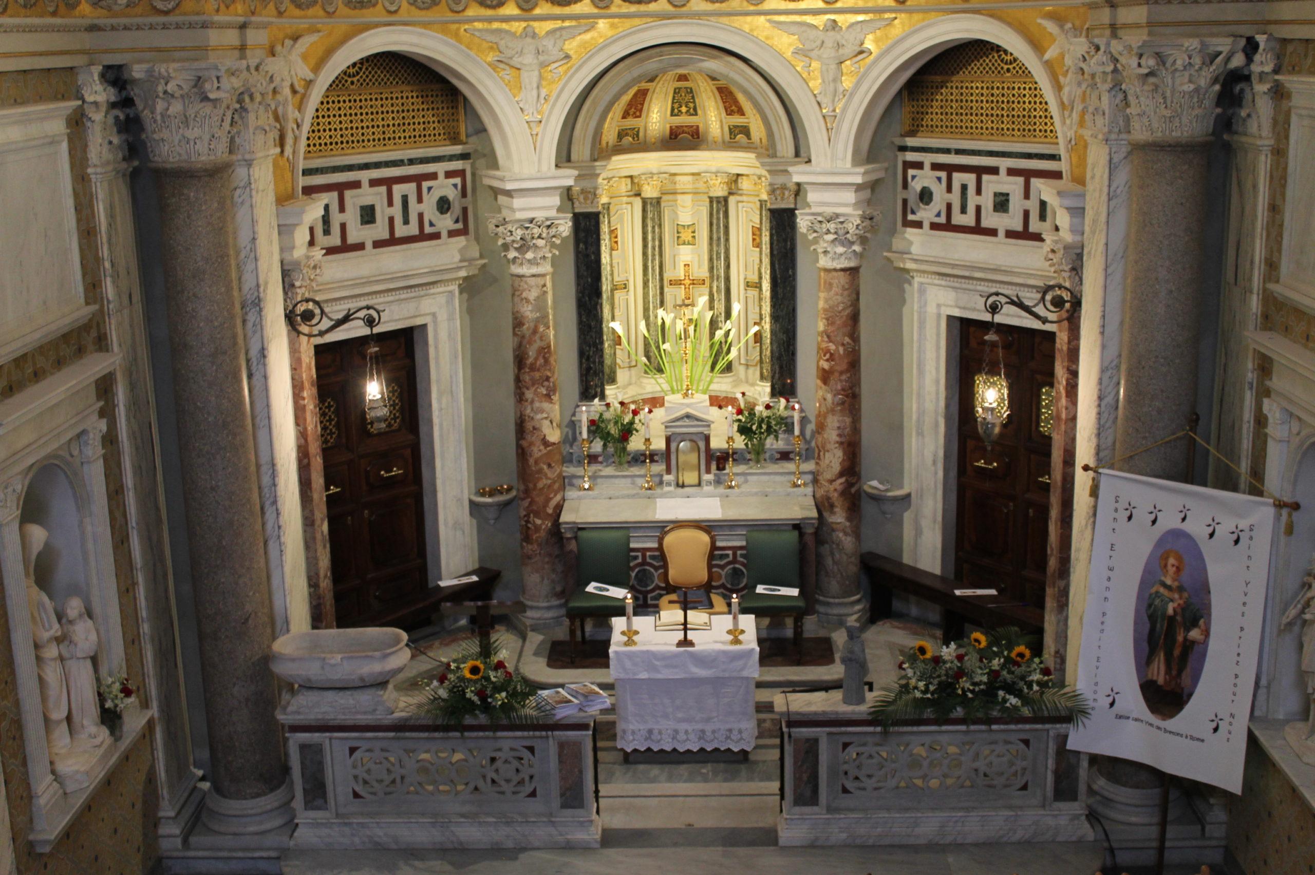 Messes à Saint-Yves des Bretons durant les vacances de Noël