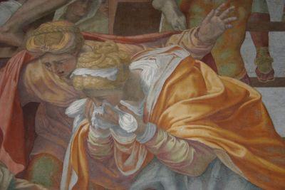 TDM Détail de la Déposition de Croix de Daniele Da Volterra