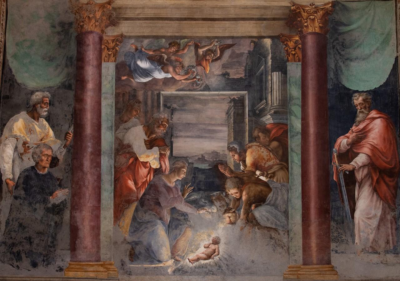 Les crèches de Noël dans les églises françaises